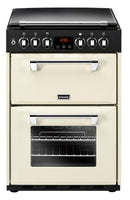 Stoves Dual Fuel Cooker Richmond 600DF Cream Double Oven 600mm Wide