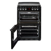 Stoves Richmond 600DF 60cm Dual Fuel Cooker - Black