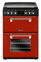 Stoves Dual Fuel Cooker Richmond 600DF Jalapeno Double Oven 600mm Wide