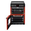 Stoves Richmond 600DF 60cm Dual Fuel Cooker - Red