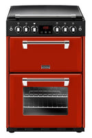 Stoves Richmond 600G 60cm Gas Cooker with Electric Grill - Red