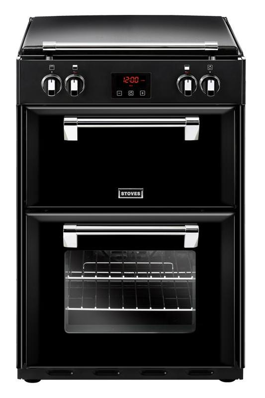 Stoves Richmond 600Ei 60cm Electric Cooker with Induction Hob - Black
