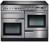 Rangemaster Professional Plus PROP110ECSS/C 110cm Electric Range Cooker with Ceramic Hob - Stainless Steel/Chrome Trim