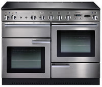 Rangemaster Professional Plus PROP110EISS/C 110cm Electric Range Cooker with Induction Hob - Stainless Steel