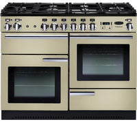Rangemaster Professional Plus PROP110DFFCR/C 110cm Dual Fuel Range Cooker - Cream/Chrome Trim