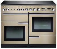 Rangemaster Professional Plus PROP110ECCR/C 110cm Electric Range Cooker with Ceramic Hob - Cream/Chrome Trim