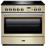 Rangemaster Professional Plus FX PROP90FXEICR/C 90cm Electric Range Cooker with Induction Hob - Cream/Chrome Trim