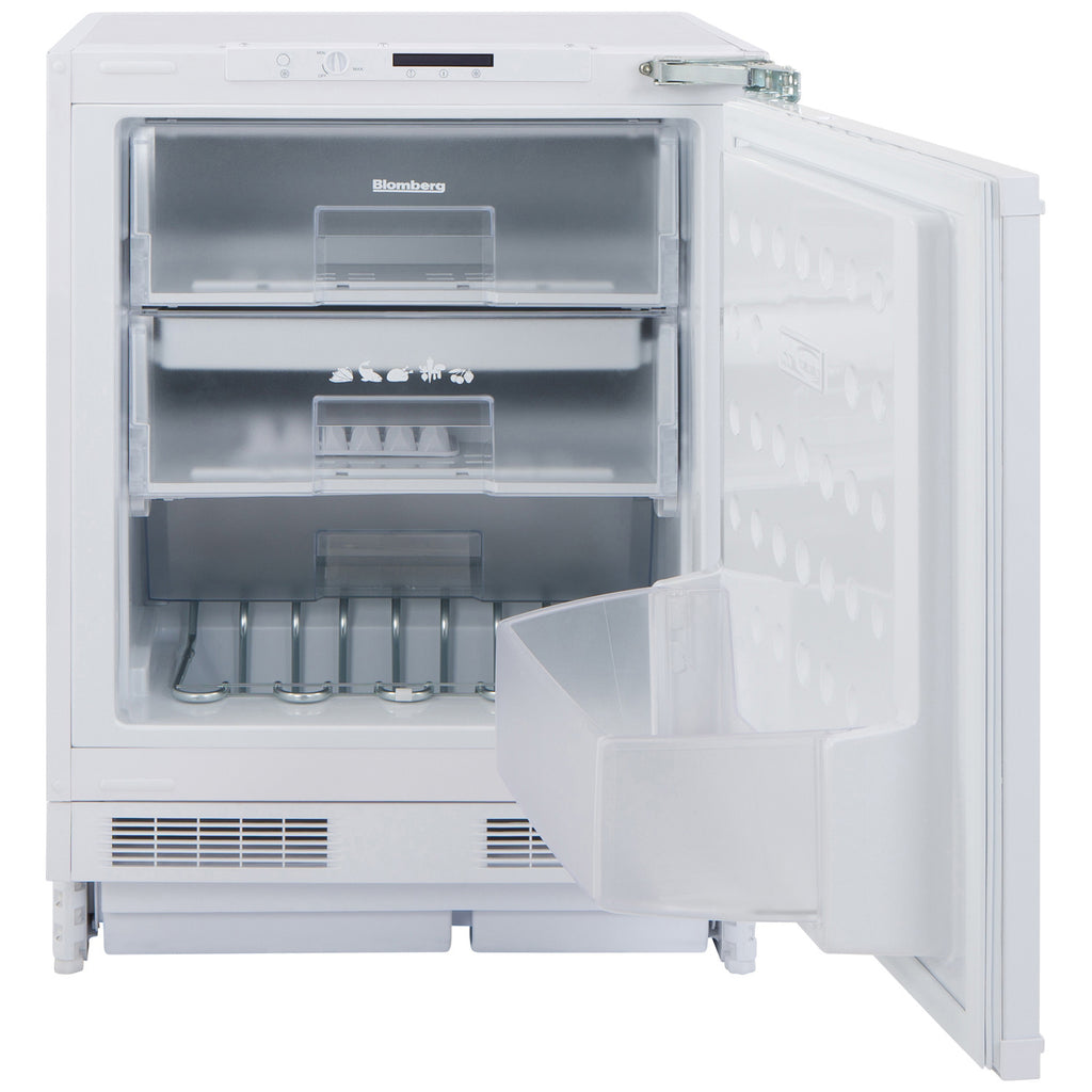 Blomberg FSE1630U Built-In Freezer A+ Energy 87 Litres White - Moores Appliances Ltd.