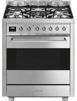 Smeg C7GPX9 70cm Dual Fuel Range Cooker Stainless Steel