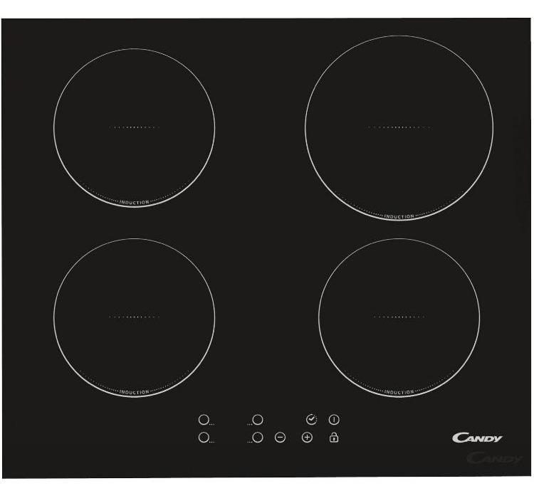 Candy CI640CBA 59cm Plug & Play Induction Hob - Black