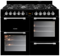 Leisure Cookmaster CK100F232K 100cm Dual Fuel Range Cooker - Black