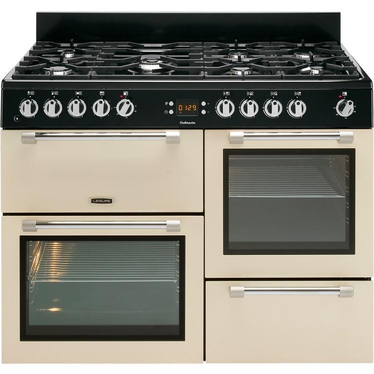 Leisure Cookmaster CK110F232C 110cm Dual Fuel Range Cooker - Cream