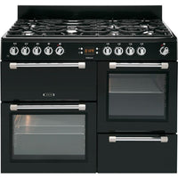 Leisure Cookmaster CK110F232K 110cm Dual Fuel Range Cooker - Black