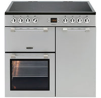 Leisure Cookmaster CK90C230S 90cm Electric Range Cooker with Ceramic Hob - Silver