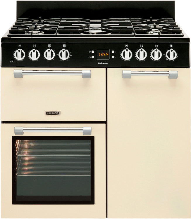 Leisure Cookmaster 90 Gas Range Cooker Cream - Moores Appliances Ltd.