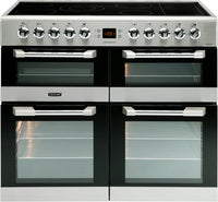 Leisure Cuisinemaster CS100C510X 100cm Electric Range Cooker with Ceramic Hob - Stainless Steel