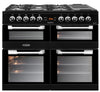 Leisure Cuisinemaster 100 Dual Fuel Range Cooker Black - Moores Appliances Ltd.