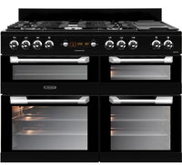 Leisure Cuisinemaster CS110F722K 110cm Dual Fuel Range Cooker - Black