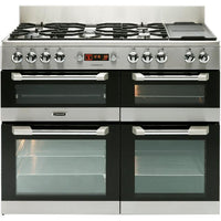 Leisure Cuisinemaster CS110F722X 110cm Dual Fuel Range Cooker - Stainless Steel