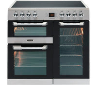 Leisure Cuisinemaster CS90C530X 90cm Electric Range Cooker with Ceramic Hob - Stainless Steel