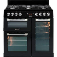 Leisure Cuisinemaster CS90F530K 90cm Dual Fuel Range Cooker - Black