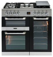 Leisure Cuisinemaster CS90F530X 90cm Dual Fuel Range Cooker - Stainless Steel