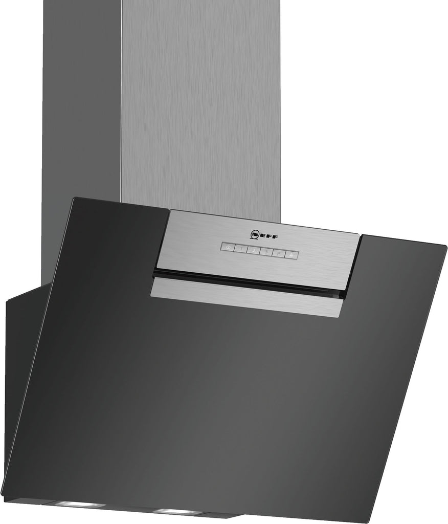 Neff N30 D65IEE1S0B 60cm Chimney Hood - Black