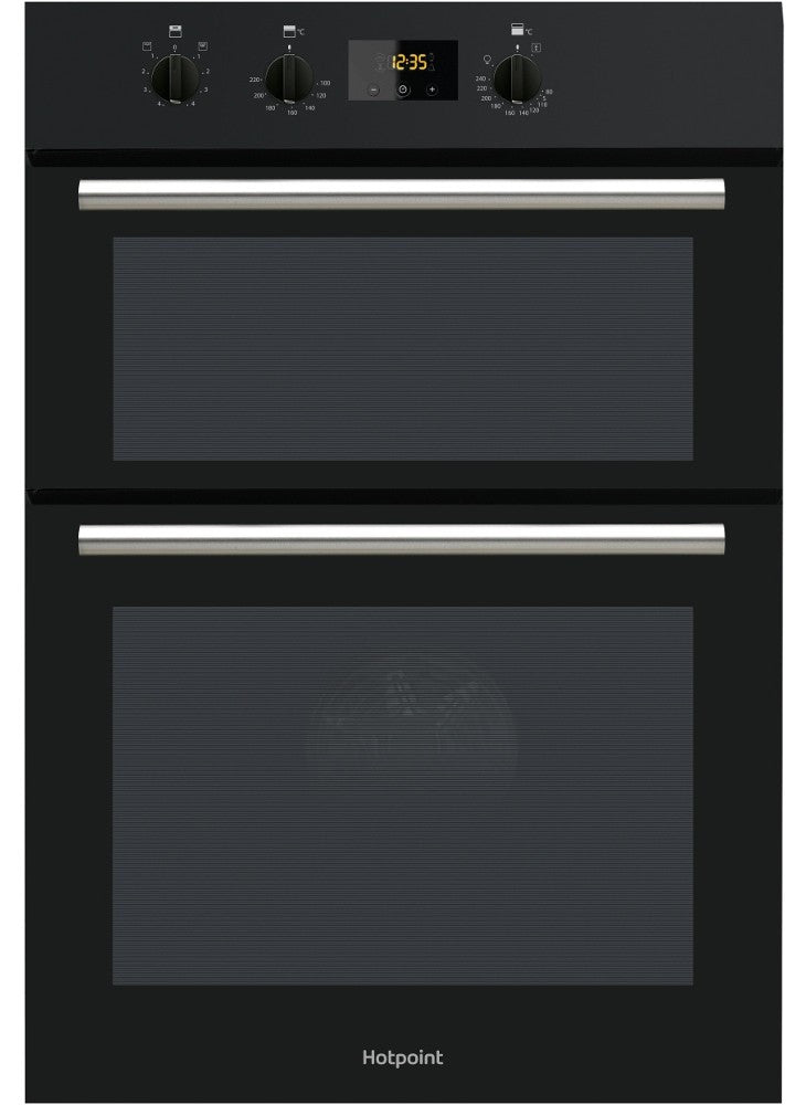 Hotpoint DD2540BL Built In Electric Double Oven - Black