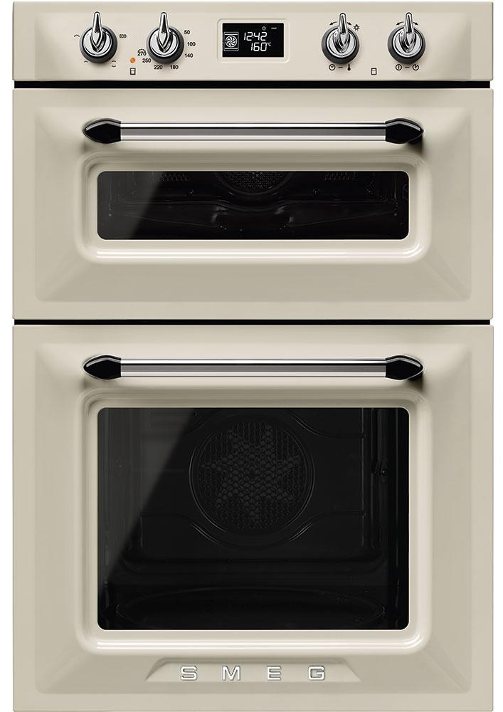 Smeg Victoria DOSF6920P1 Built In Electric Double Oven - Cream