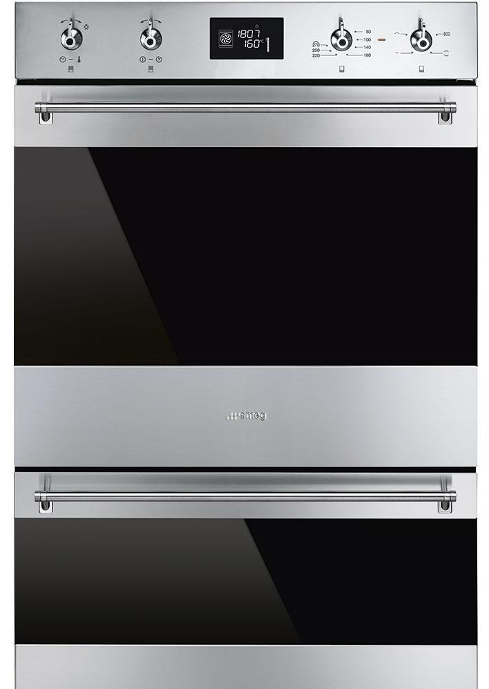 Smeg Classic DOSP6390X Built In Electric Double Oven - Stainless Steel