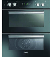 Candy FC7D415NX Built Under Electric Double Oven - Black