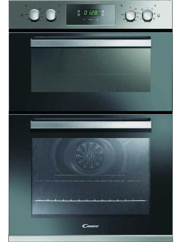 Candy FC9D415X Built In Electric Double Oven - Stainless Steel