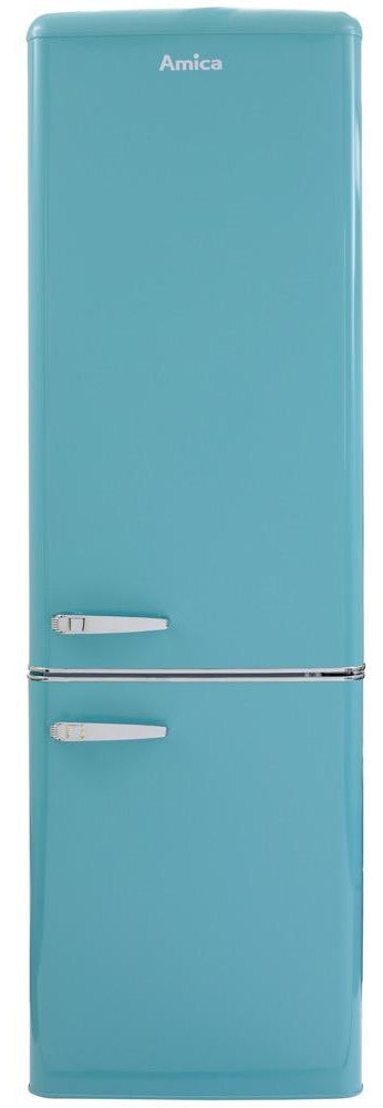 Amica FKR29653DEB 55cm Fridge Freezer - Blue - A+ Rated