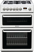 Hotpoint HAG60P 60cm Gas Cooker - White