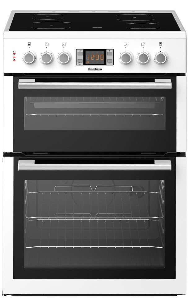Blomberg HKN65W 60cm Electric Cooker with Ceramic Hob - White