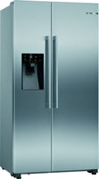 Bosch Serie 6 KAD93VIFPG American Fridge Freezer - Stainless Steel - F Rated