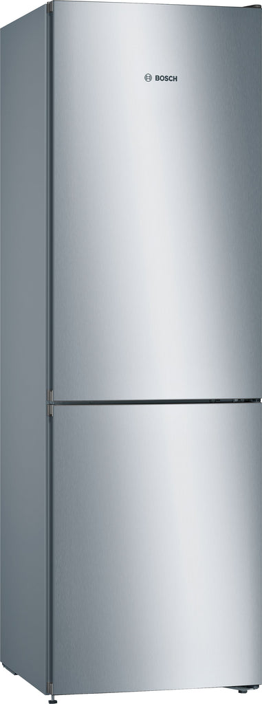 Bosch Serie 4 KGN36VLEAG 60cm Frost Free Fridge Freezer - Stainless Steel Effect - A++ Rated