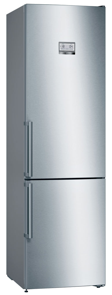 Bosch Serie 6 KGN39HIEP 60cm Frost Free Fridge Freezer Stainless Steel Effect - A++ Rated