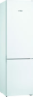 Bosch Serie 4 KGN39VWEAG 60cm Frost Free Fridge Freezer - White - E Rated