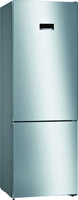 Bosch Serie 4 KGN49XLEA 70cm Frost Free Fridge Freezer - Stainless Steel Effect - E Rated