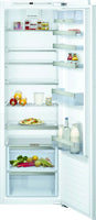 Neff N70 KI1813FE0G 56cm Integrated Upright Larder Fridge - Fixed Door Fixing Kit - White - A++ Rated