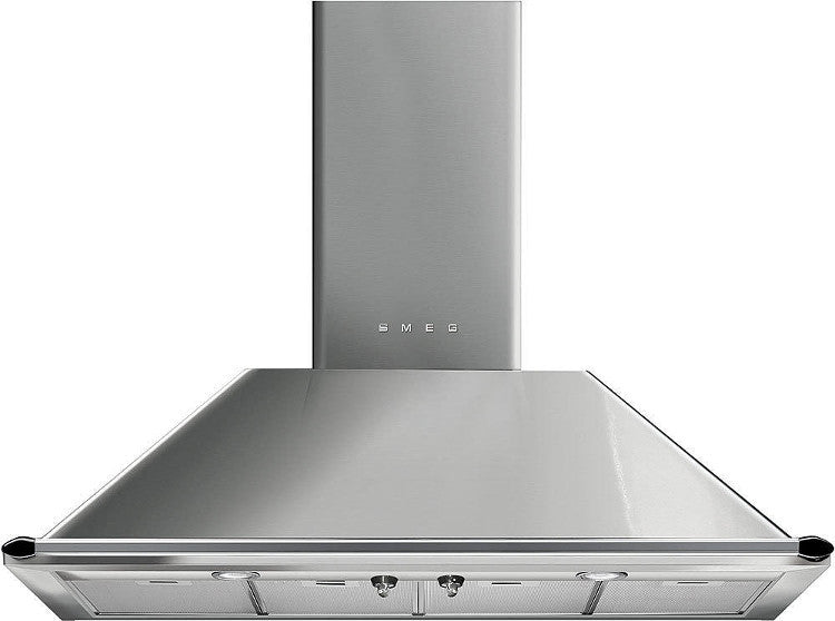 Smeg KTR110XE 110cm Chimney Hood Stainless Steel - Moores Appliances Ltd.