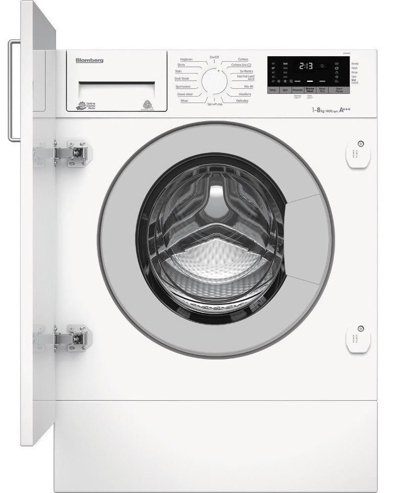 Blomberg LWI284410 Integrated 8Kg Washing Machine with 1400 rpm - C Rated