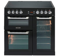 Leisure Cuisinemaster CS90C530K 90cm Electric Range Cooker with Ceramic Hob - Black