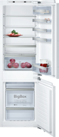 NEFF N70 KI7863DF0G Integrated Frost Free Fridge Freezer with Fixed Door Fixing Kit - White - A++ Rated