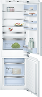 Bosch Serie 8 KIN86AFF0G Integrated Frost Free Fridge Freezer with Fixed Door Fixing Kit - White - F Rated