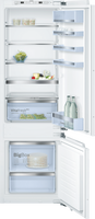 Bosch Serie 6 KIS87AFE0G Integrated Fridge Freezer with Fixed Door Fixing Kit - White - E Rated