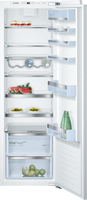 Bosch Serie 6 KIR81AFE0G 56cm Integrated Upright Larder Fridge - Fixed Door Fixing Kit - White - E Rated