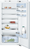 Bosch Serie 6 KIR41AFF0 56cm Integrated Upright Larder Fridge - Fixed Door Fixing Kit - White - F Rated