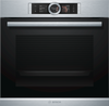 Bosch Serie 8 HRG6769S6B Wifi Connected Built In Electric Single Oven with added Steam Function - Stainless Steel